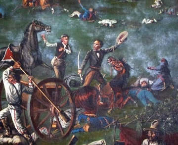 Houston and his Texians won the Battle of San Jacinto in 18 minutes. Remember the Alamo indded.