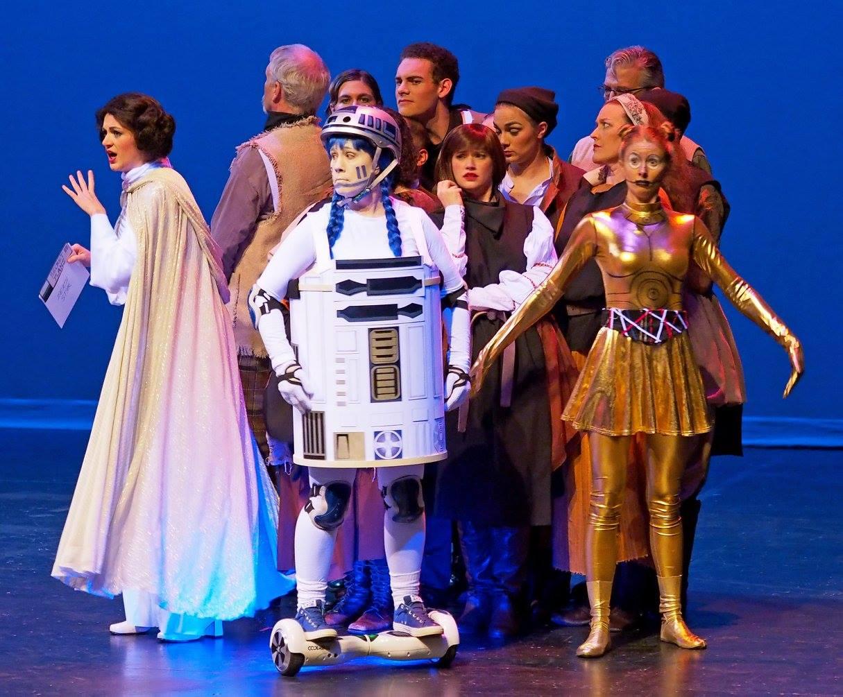 Princess Ida, Lamplighters Spoof Gala 2014