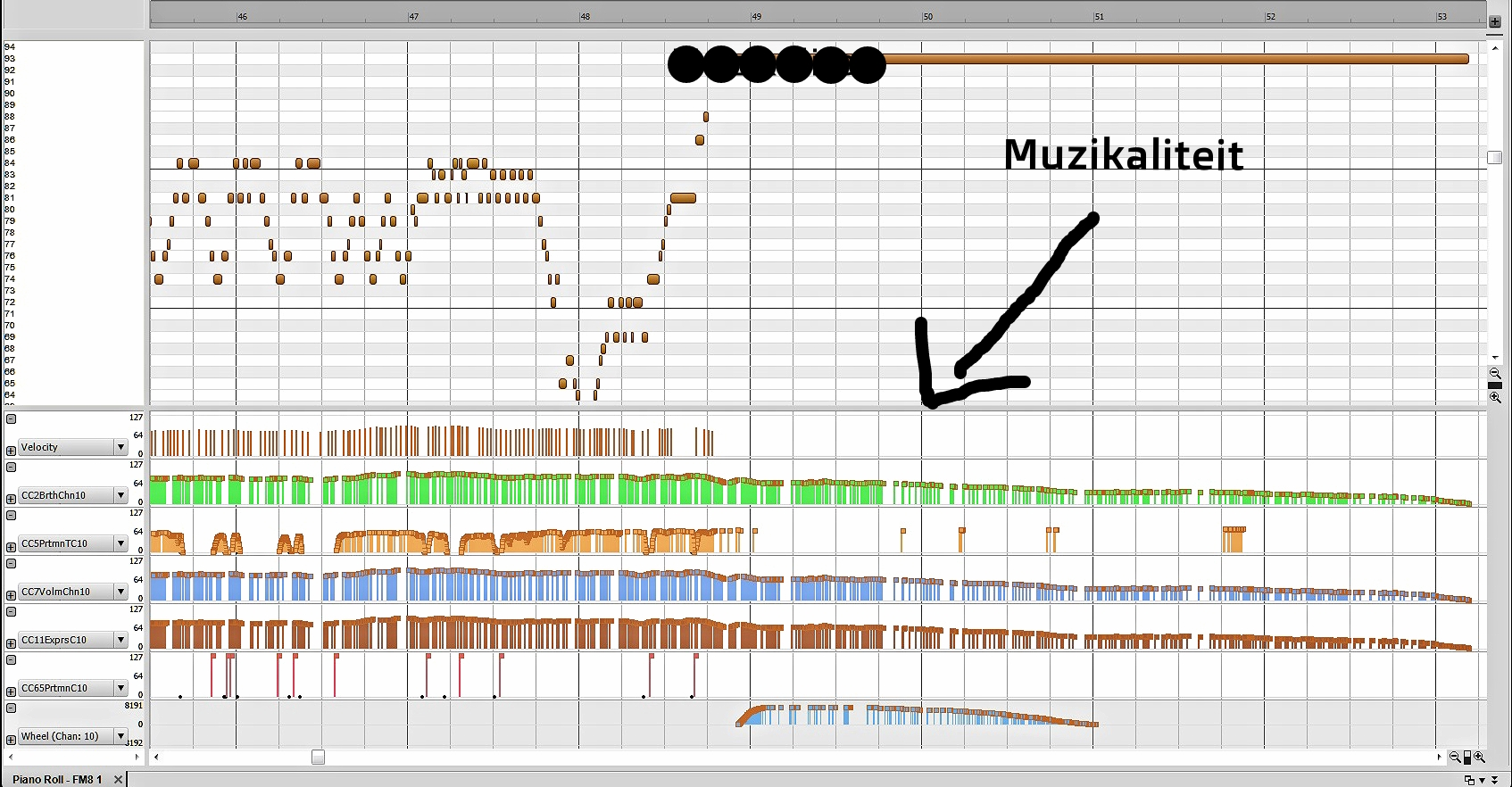 Met behulp van midi kan een muzikale uitvoering direct worden vastgelegd - een midi-file is immers een digitale geluidsdrager