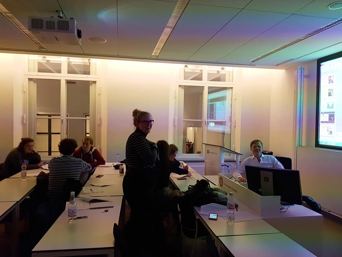 Extra ambitieuze studenten volgen de module Muziek & Recht bij ULC Tilia, het juridische honoursprogramma @ Universiteit Utrecht