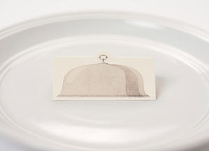 Serving Dome Place Cards $6