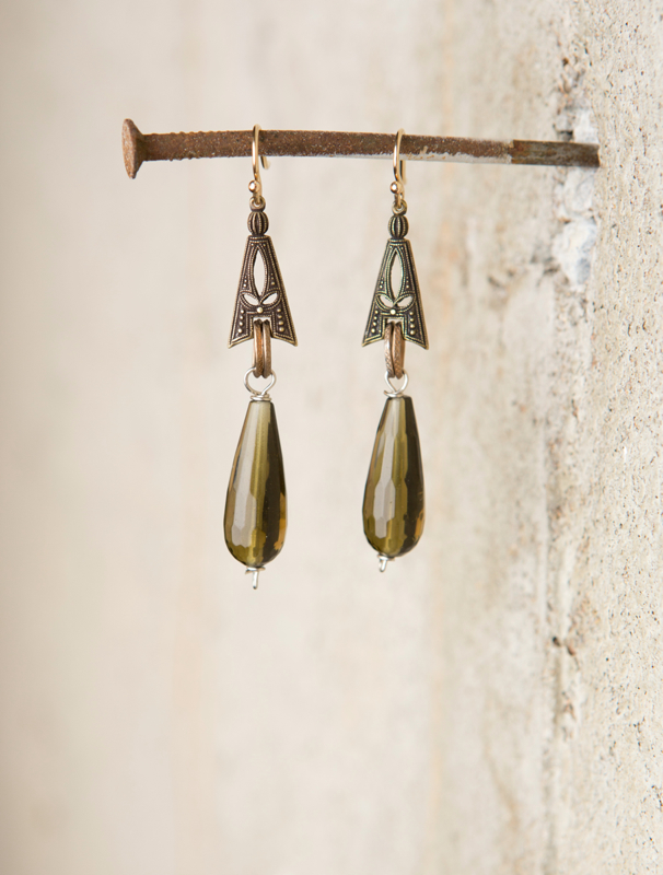 Faceted olivine bead earrings_e-1440.jpg