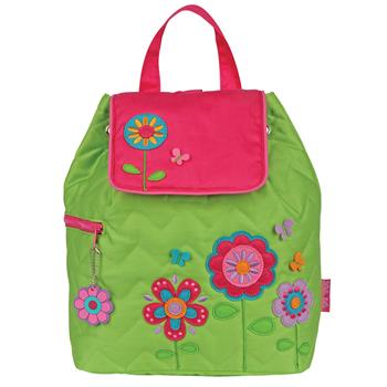 FLOWER QUILTED BACKPACK $25