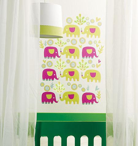 PINK ELEPHANT VINYL DECALS $20