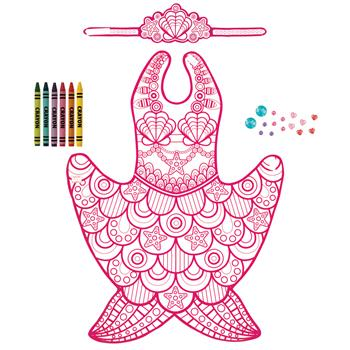 MERMAID COLOR YOUR OWN COSTUME $10