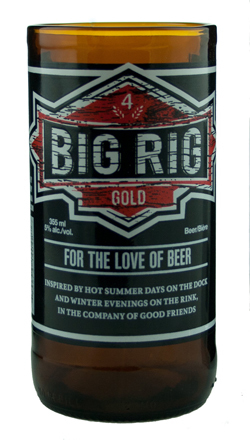 UPCYCLED BIG RIG BEER TUMBLER $8