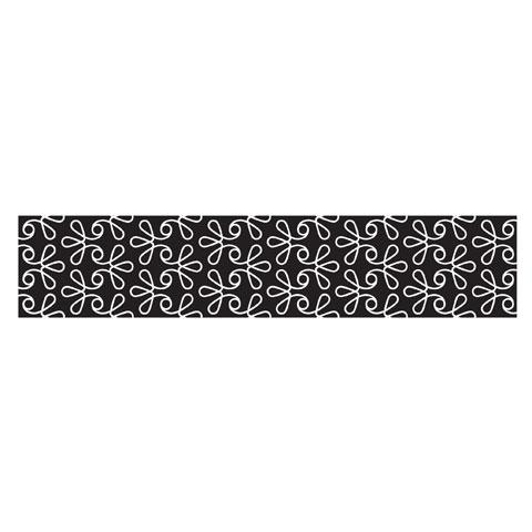 PEEL 'N STICK BLACK SWIRL WALLPAPER $20