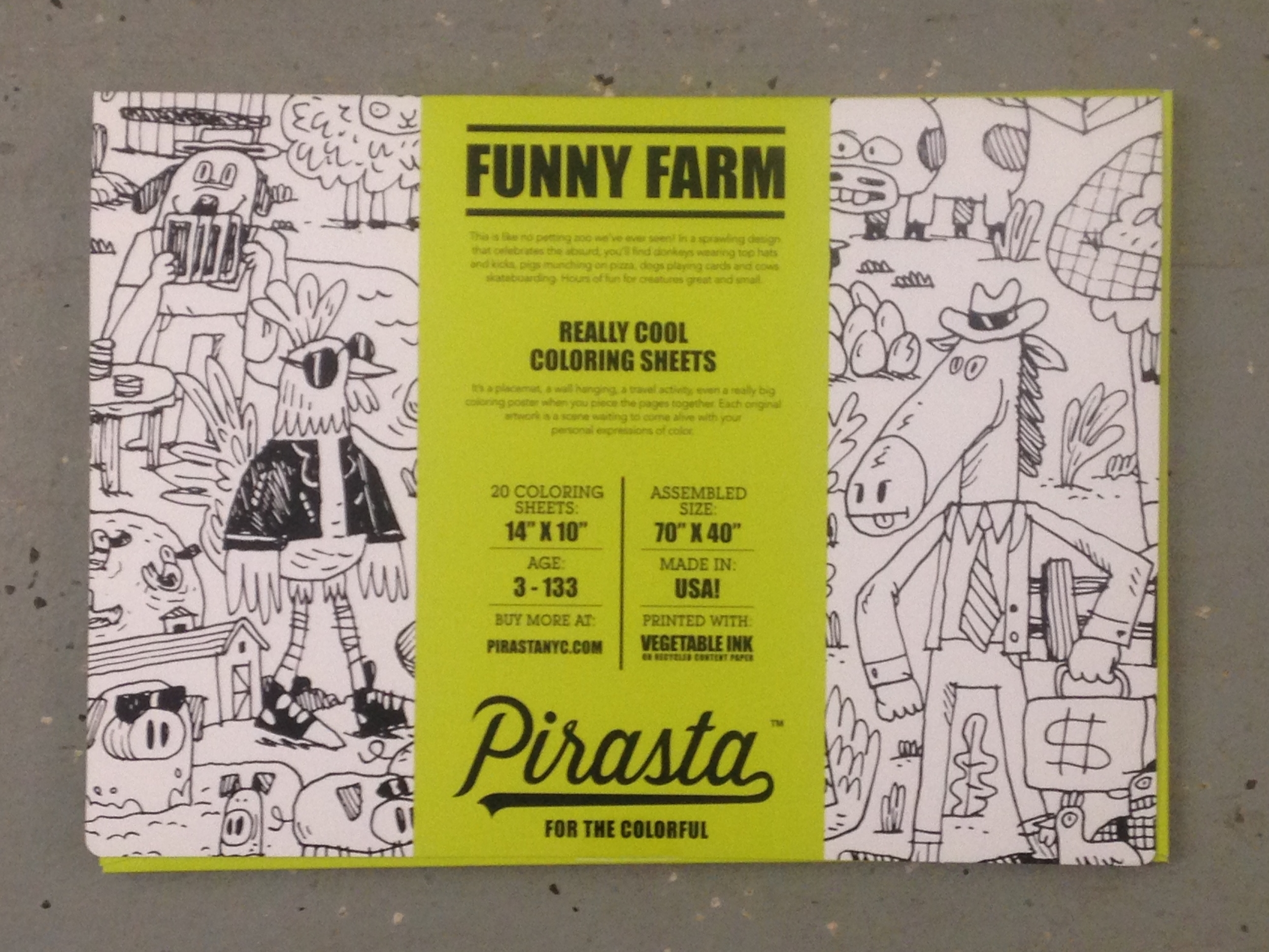 Funny Farm Placemats $20