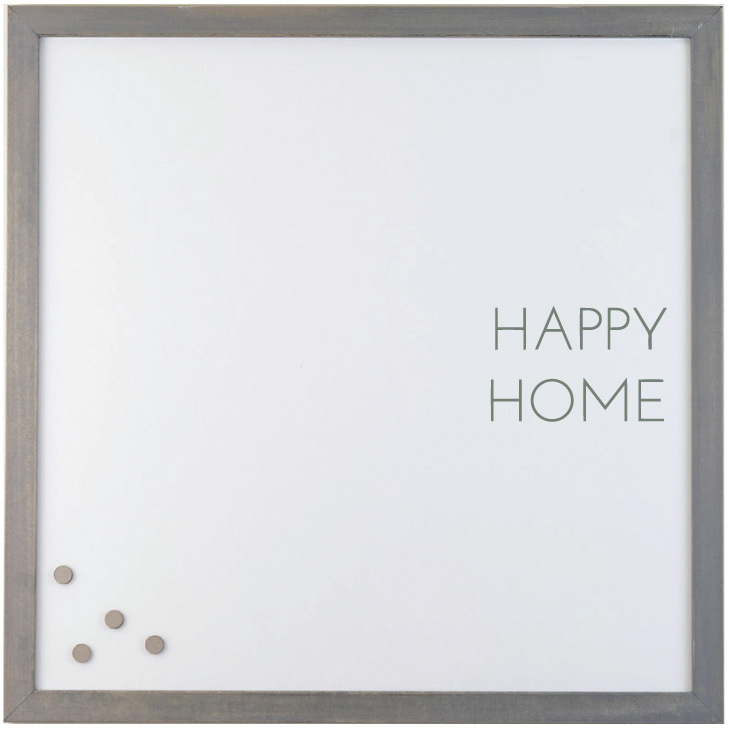 HAPPY HOME' MAGNET BOARD $98