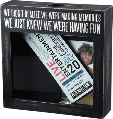 MAKING MEMORIES' SHADOW BOX $35