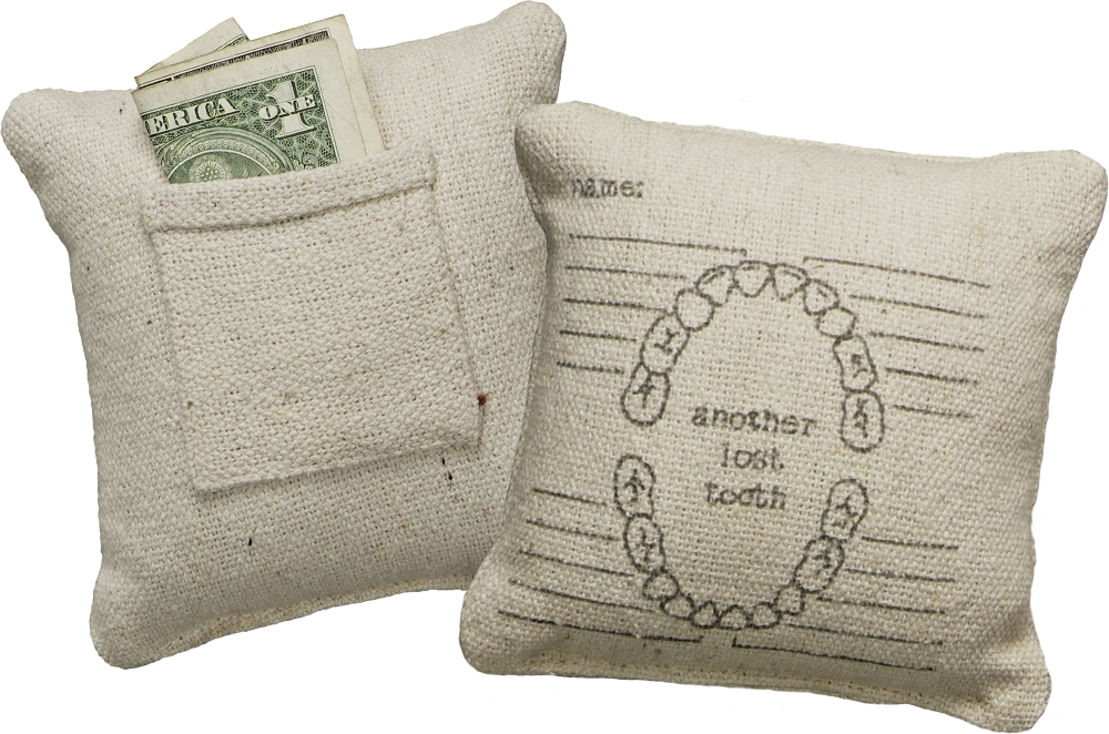 LOST TOOTH' MINI PILLOW $7