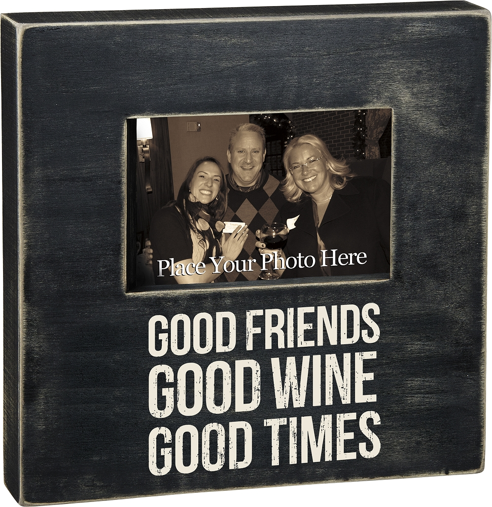 GOOD TIMES' BOX FRAME $28