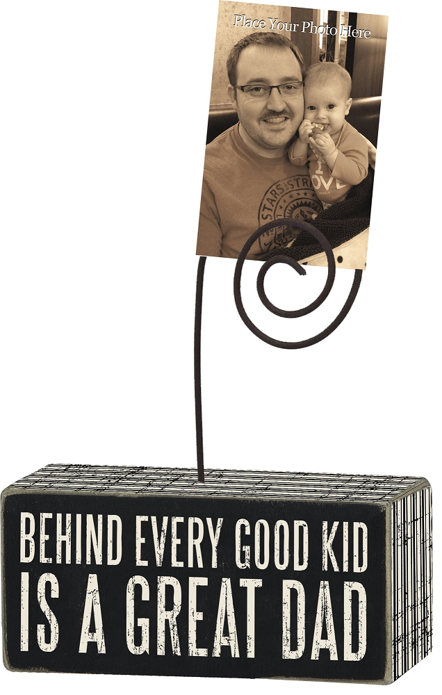 GREAT DAD' PHOTO BLOCK $8