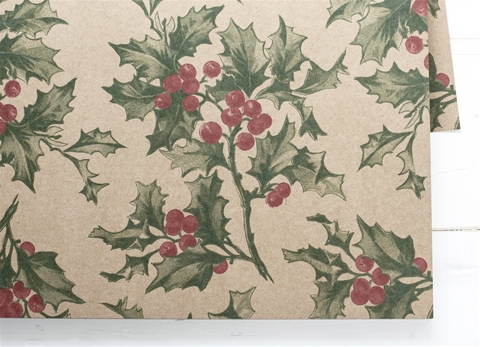 HOLLY PLACEMATS $29