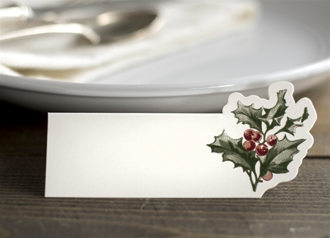 HOLLY PLACECARDS $6