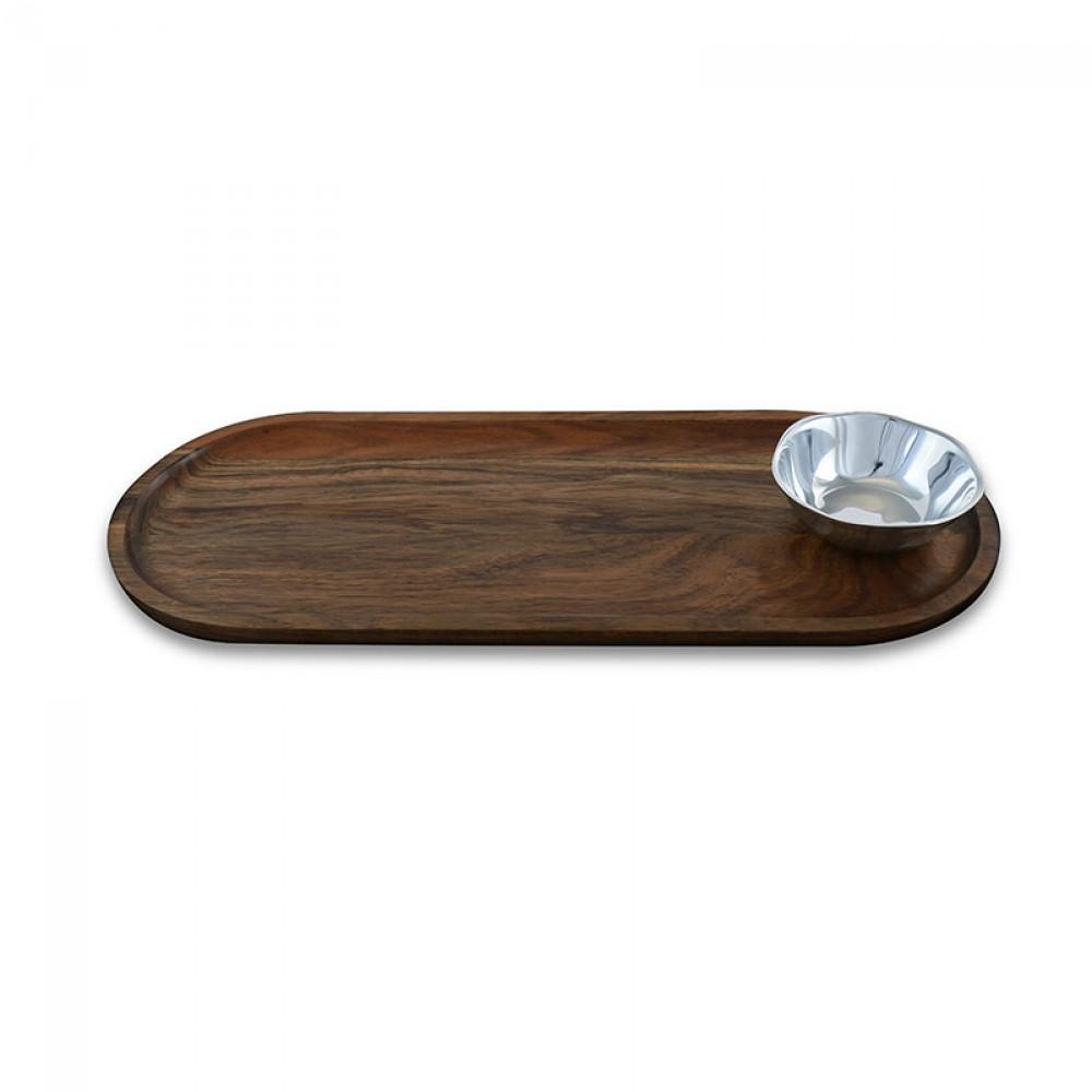 SOHO ROUND MINI BOWL W/ CUTTING BOARD $116