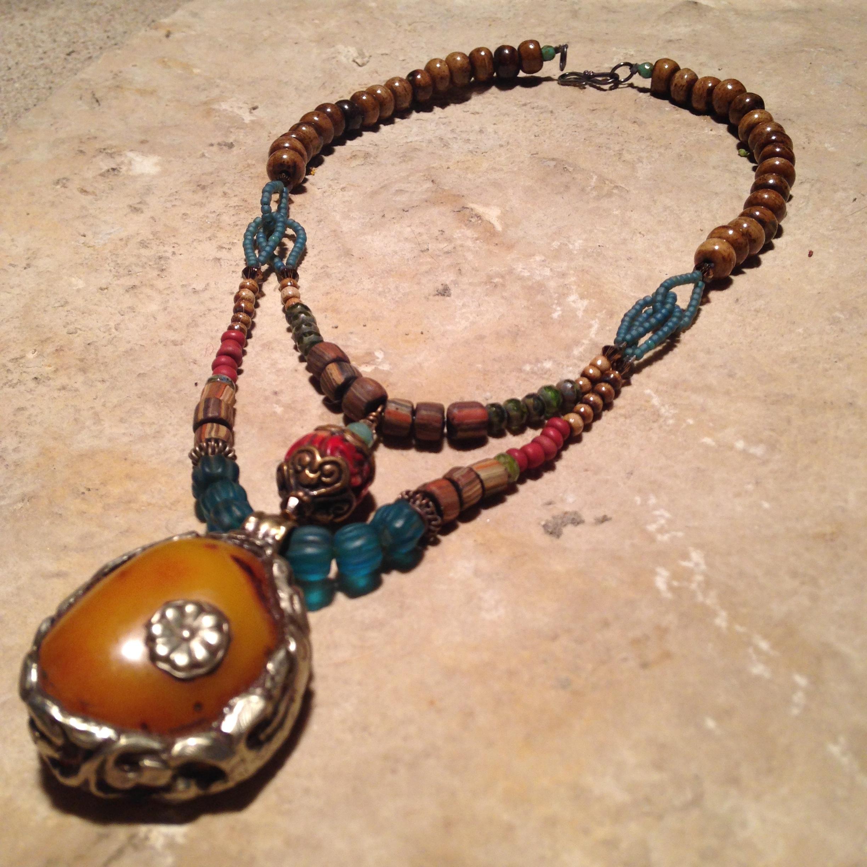 COPAL DOUBLE Necklace $244