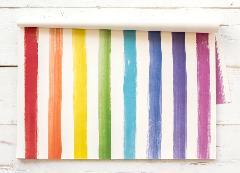 PAINTED STRIPE PLACEMATS  $29 Pad of 30 placemats