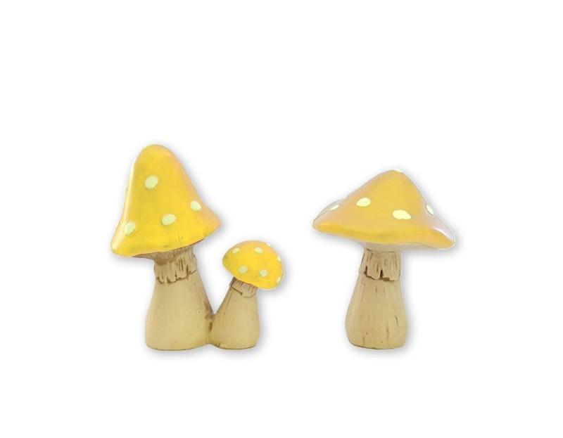 'LIL MUSHROOMS - Sunshine Yellow $11