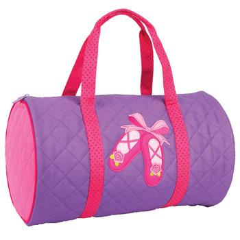 QUILTED DUFFLE BALLET  $28
