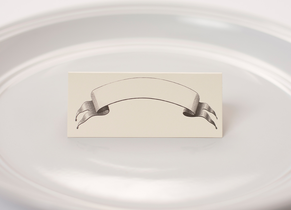 Banner Place Cards $6