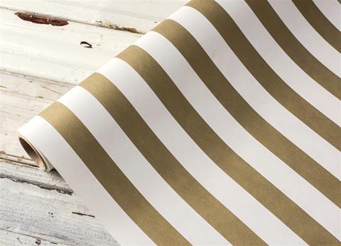 Gold Stripe Runner $27