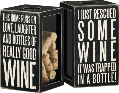 Good Wine Cork and Cap Holder $23