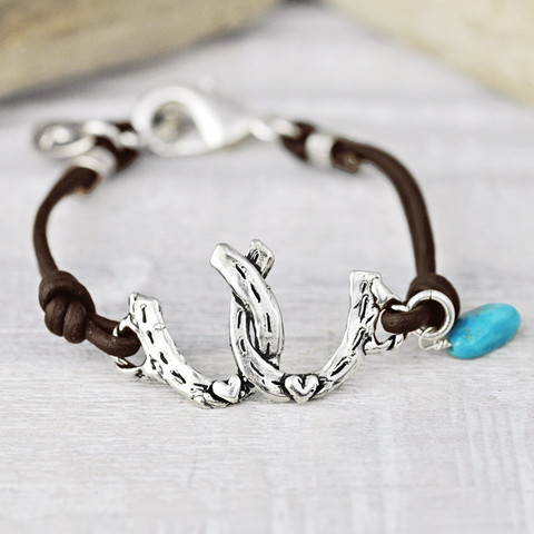 Horses Give You Wings Bracelet $66