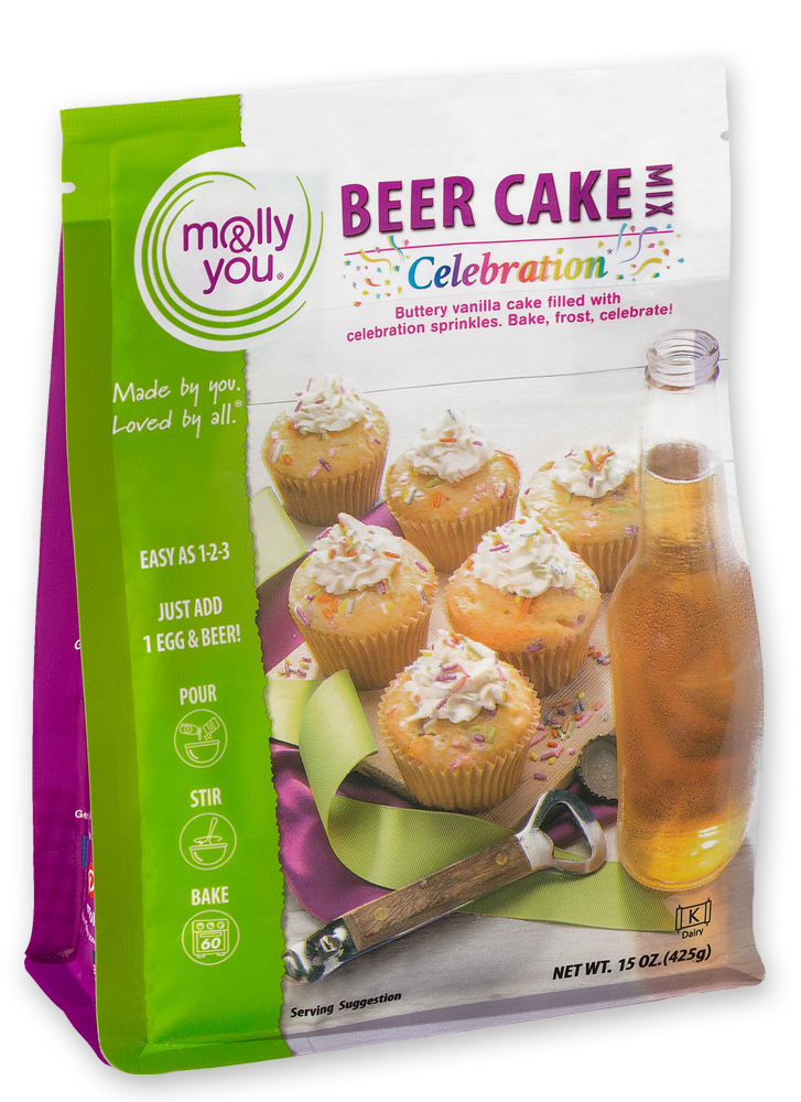 Celebration Beer Cake Mix $10