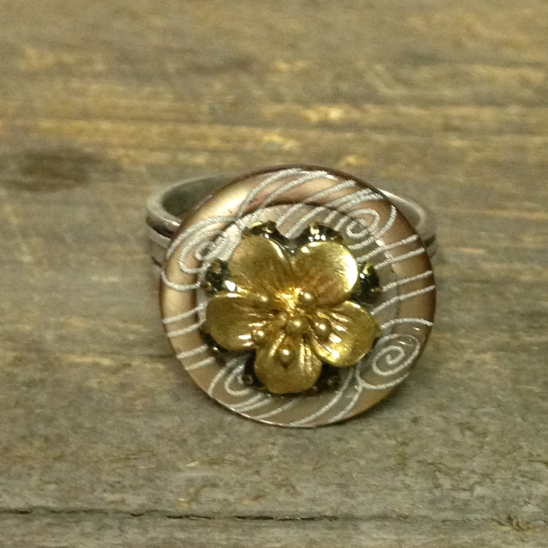 Wind Flower Ring $60