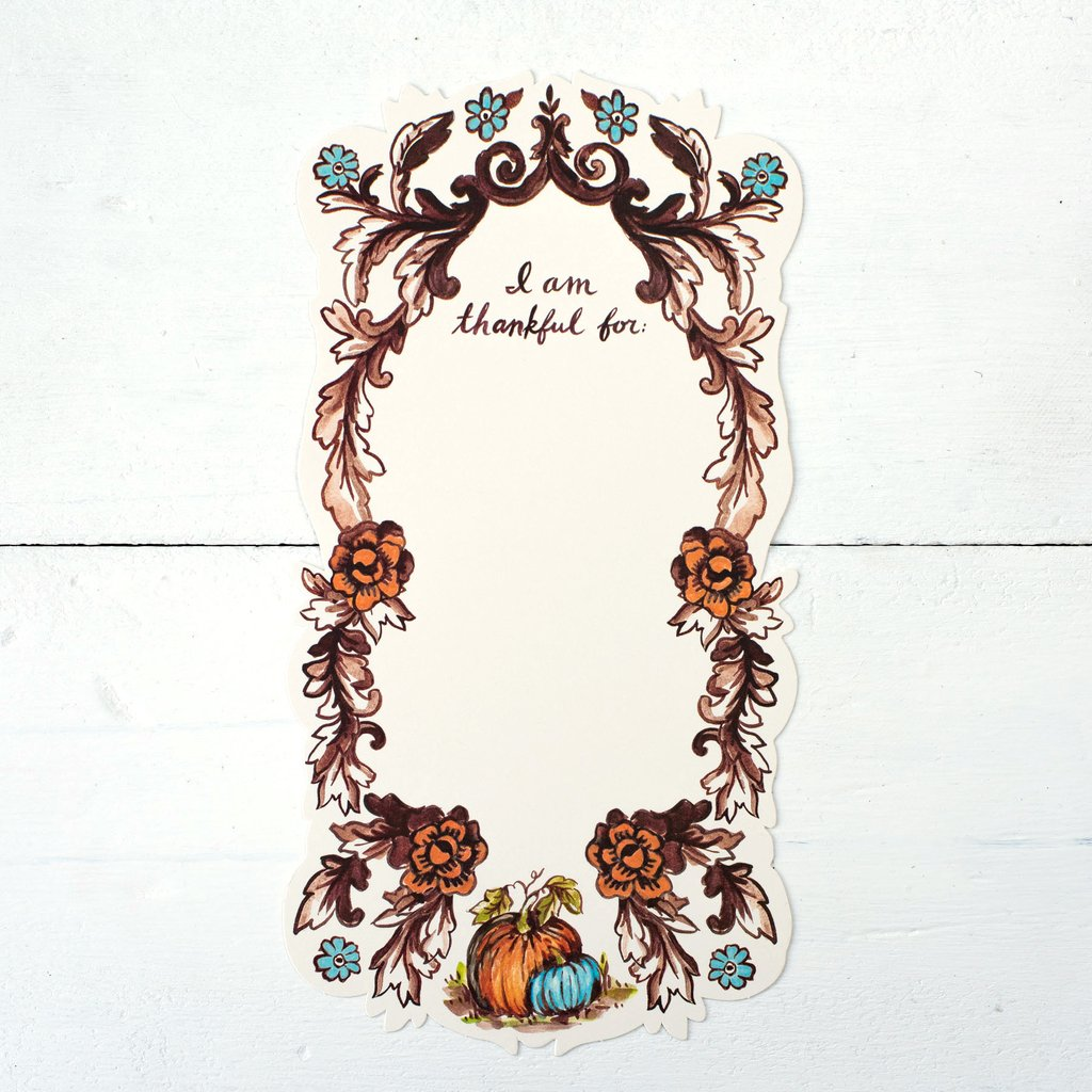 """""""I Am Thankful For"""" Table Accent $13"""
