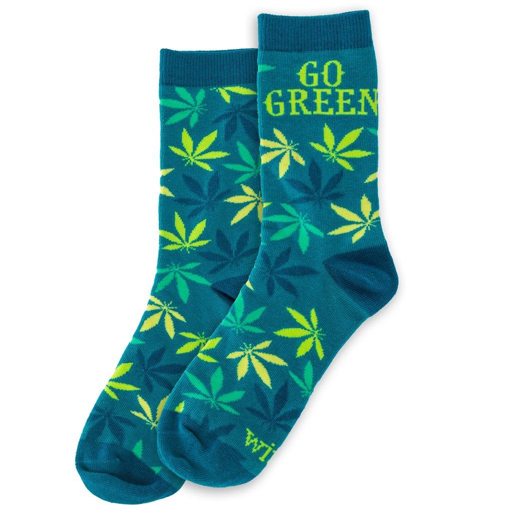Go Green Socks $8