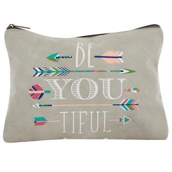 Be-You-Tiful Cosmetic Bag $12