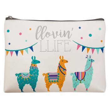 Llama Cosmetic Bag $10