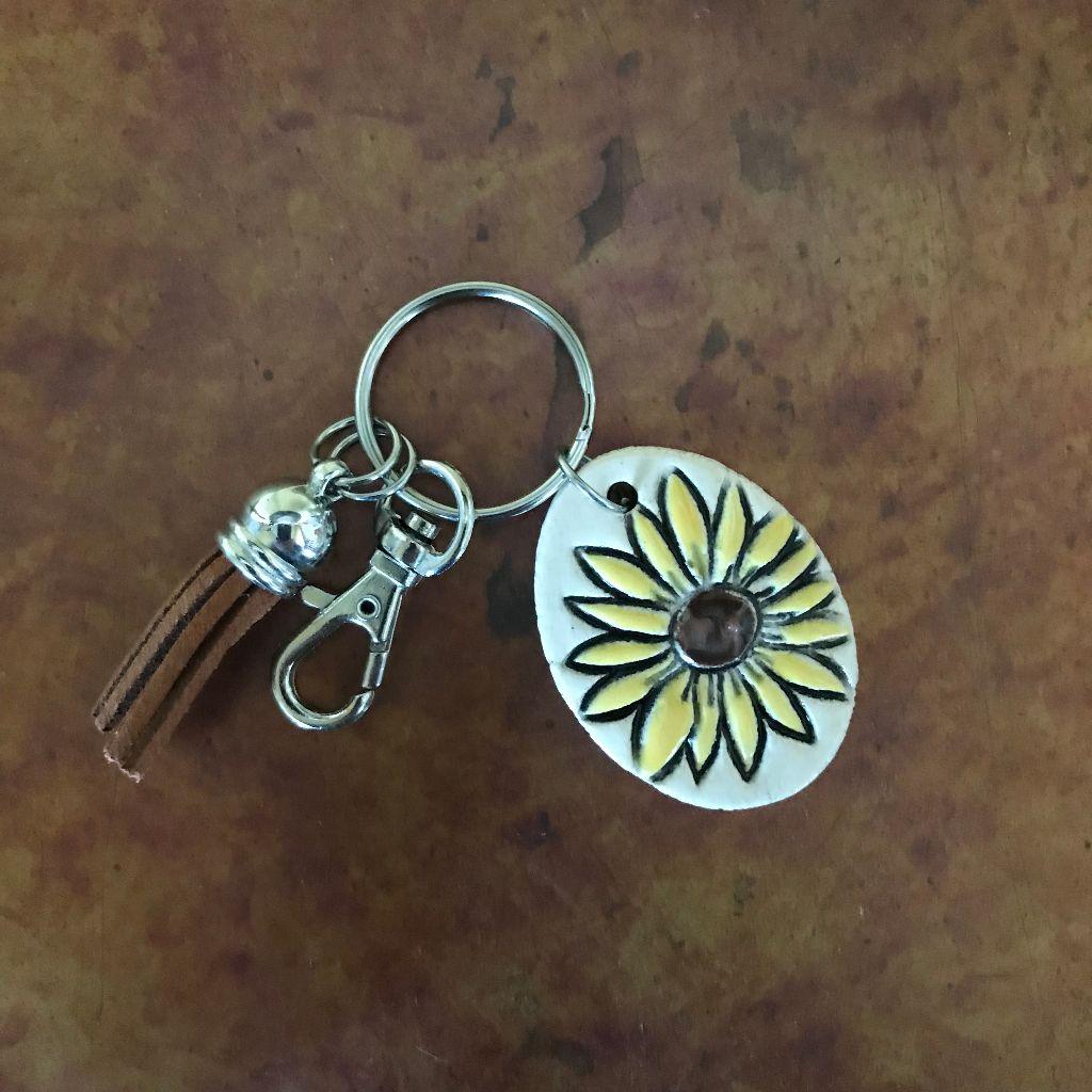 Sunflower Key Ring $16