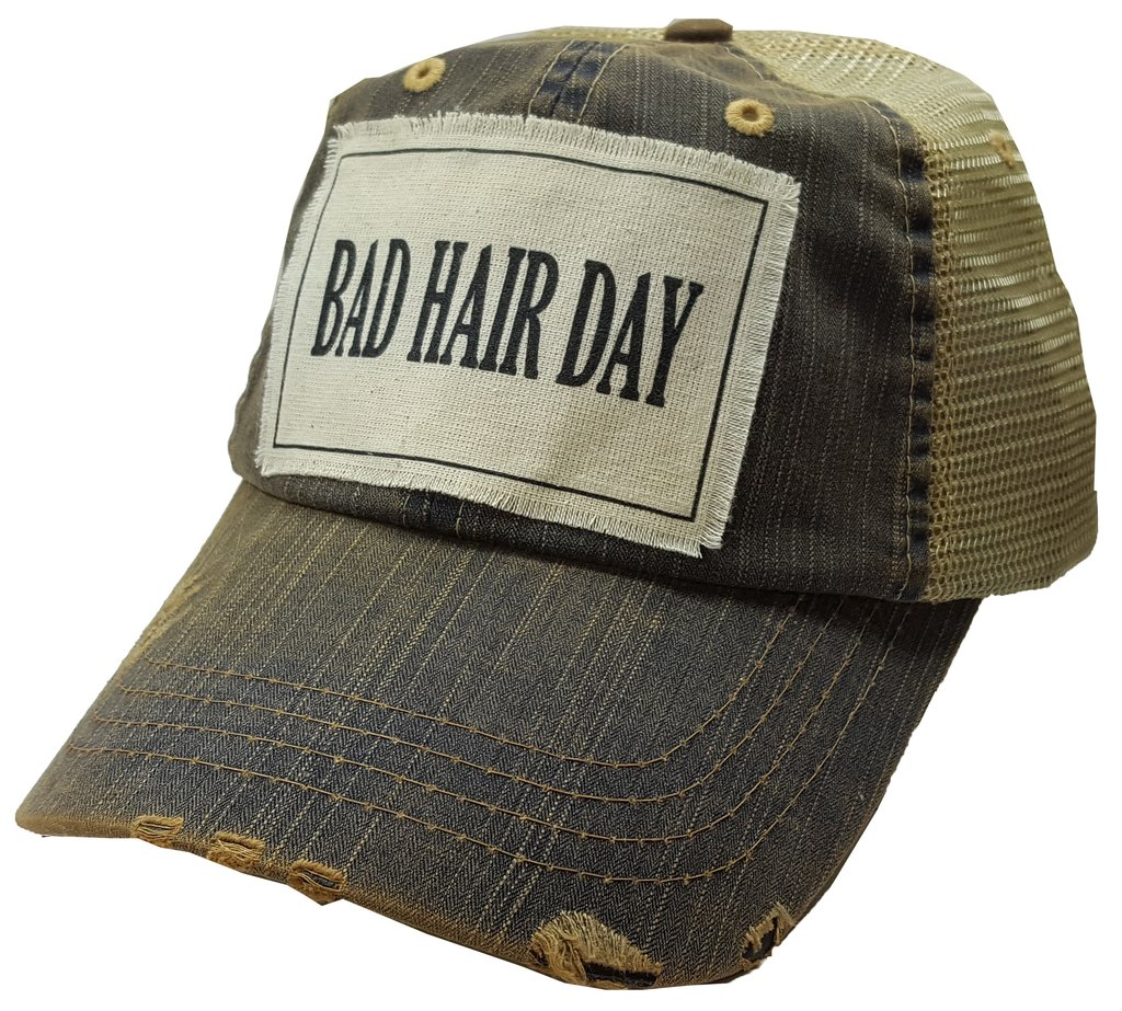 Bad Hair Day Cap $25