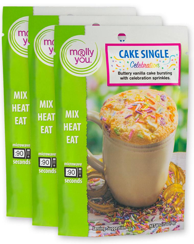 Celebration Cake Single $3