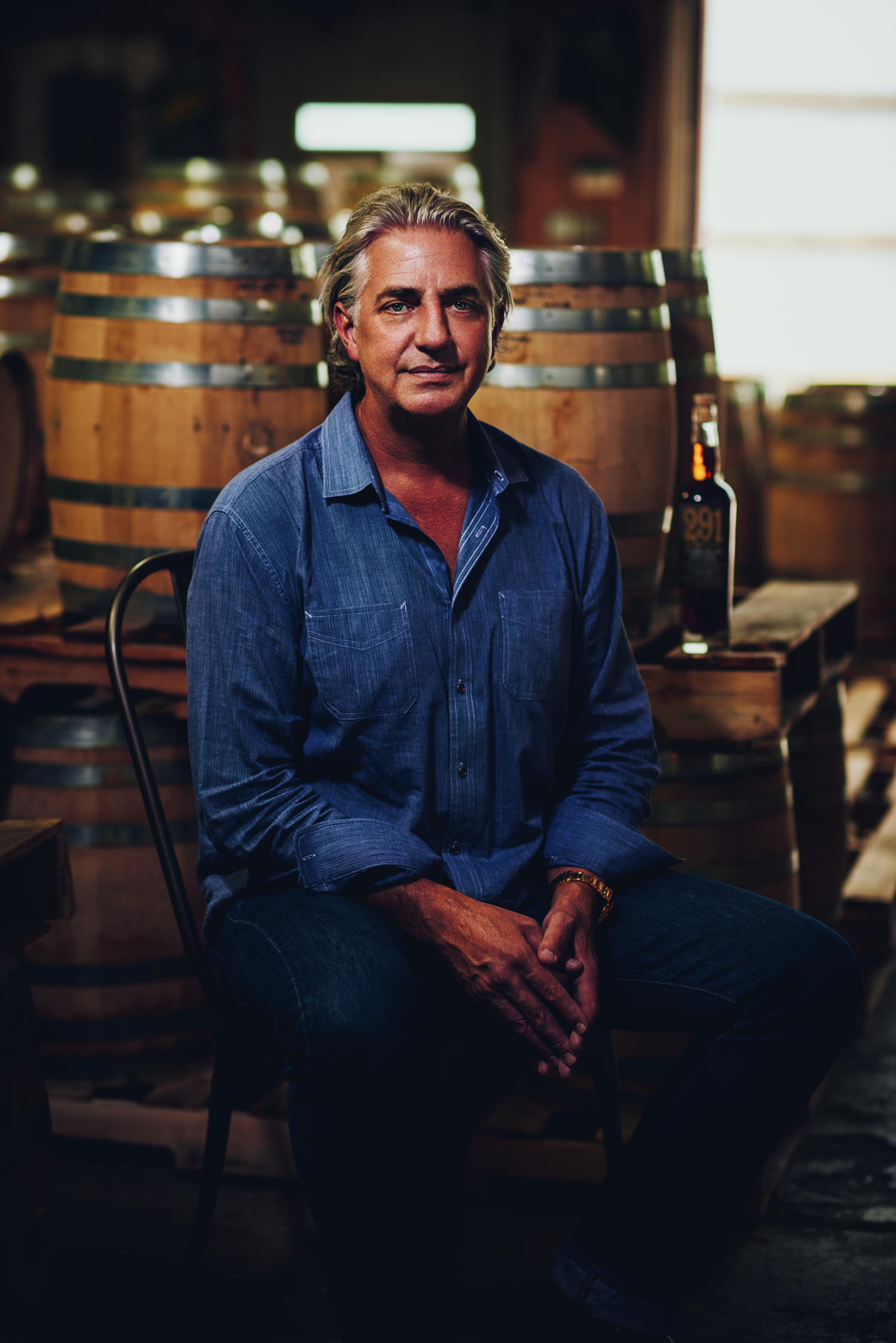 Michael Myers is the founder of Distillery 291 in Colorado Springs. Photo courtesy of Distillery 291