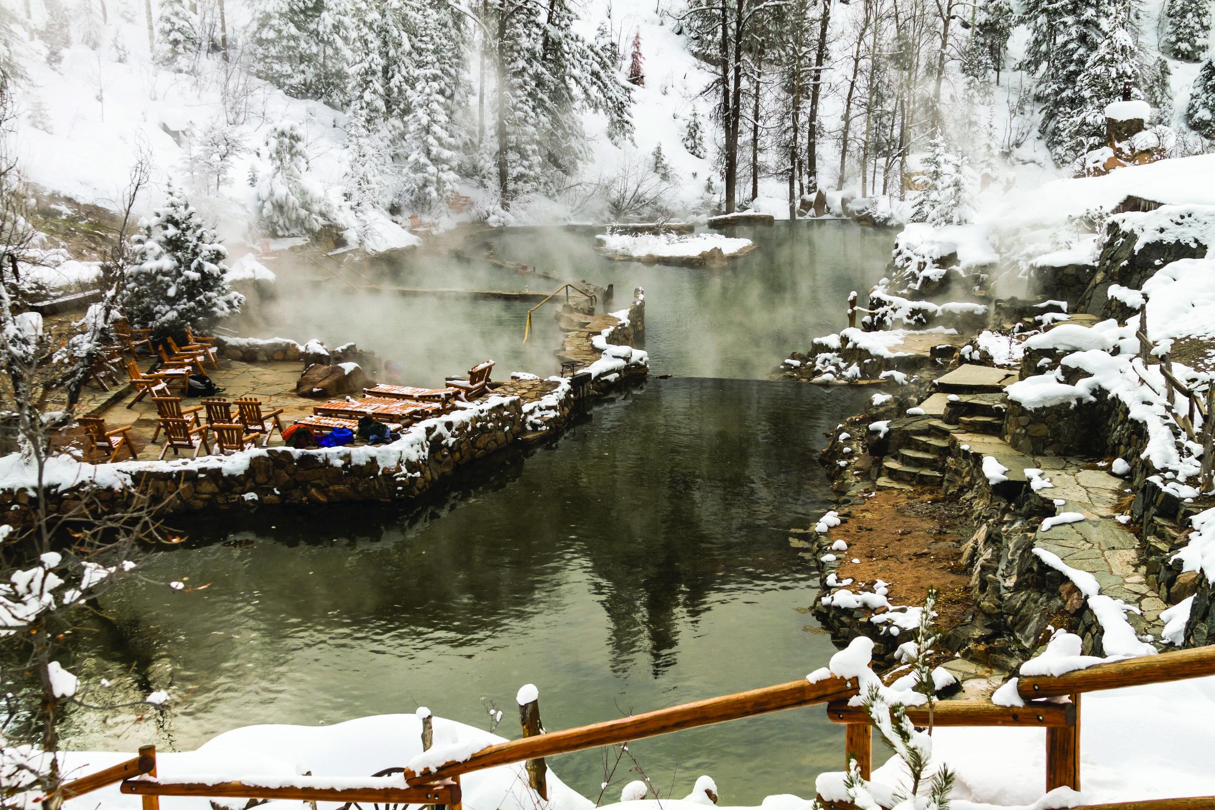 Strawberry Park Hot Springs 123RF/Teri Virbickis
