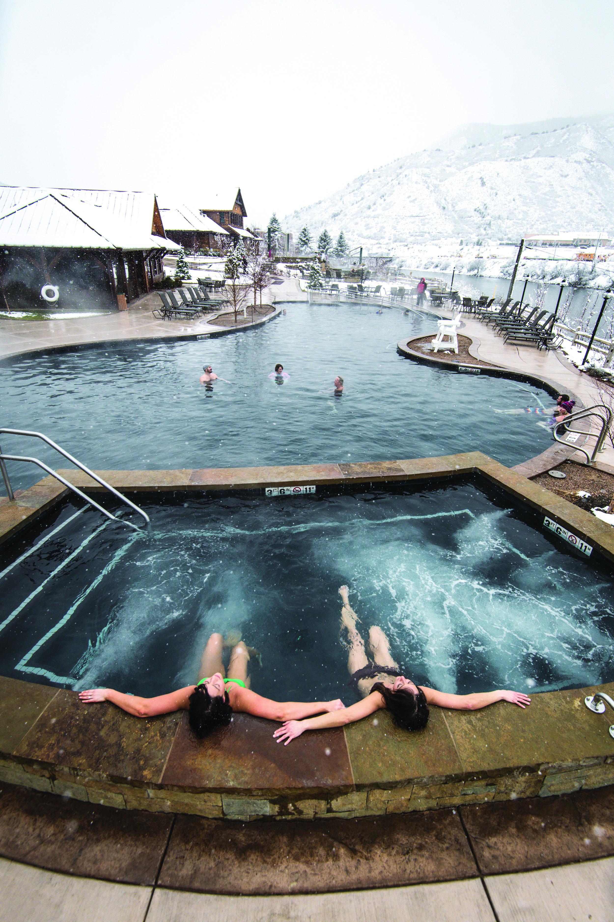 Photo courtesy of Iron Mountain Hot Springs