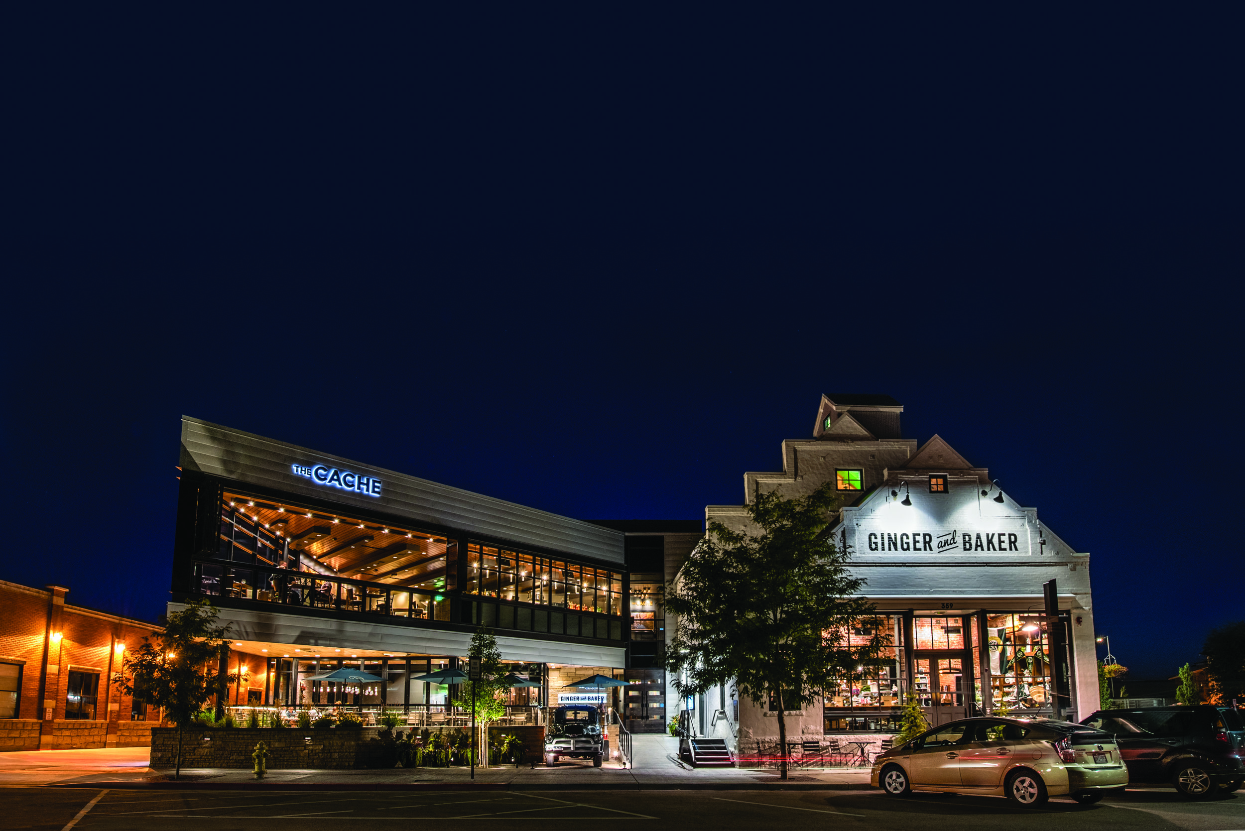 The Ginger and Baker eatery. Photos: Courtesy of Ginger and Baker and PhoCo Photography