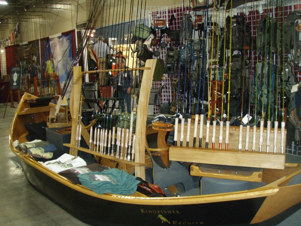 Tons of fly fishing and outdoor gear is for sale at the Denver Fly Fishing Show January 4-6, 2019.  Photo by Fly Fishing Show.