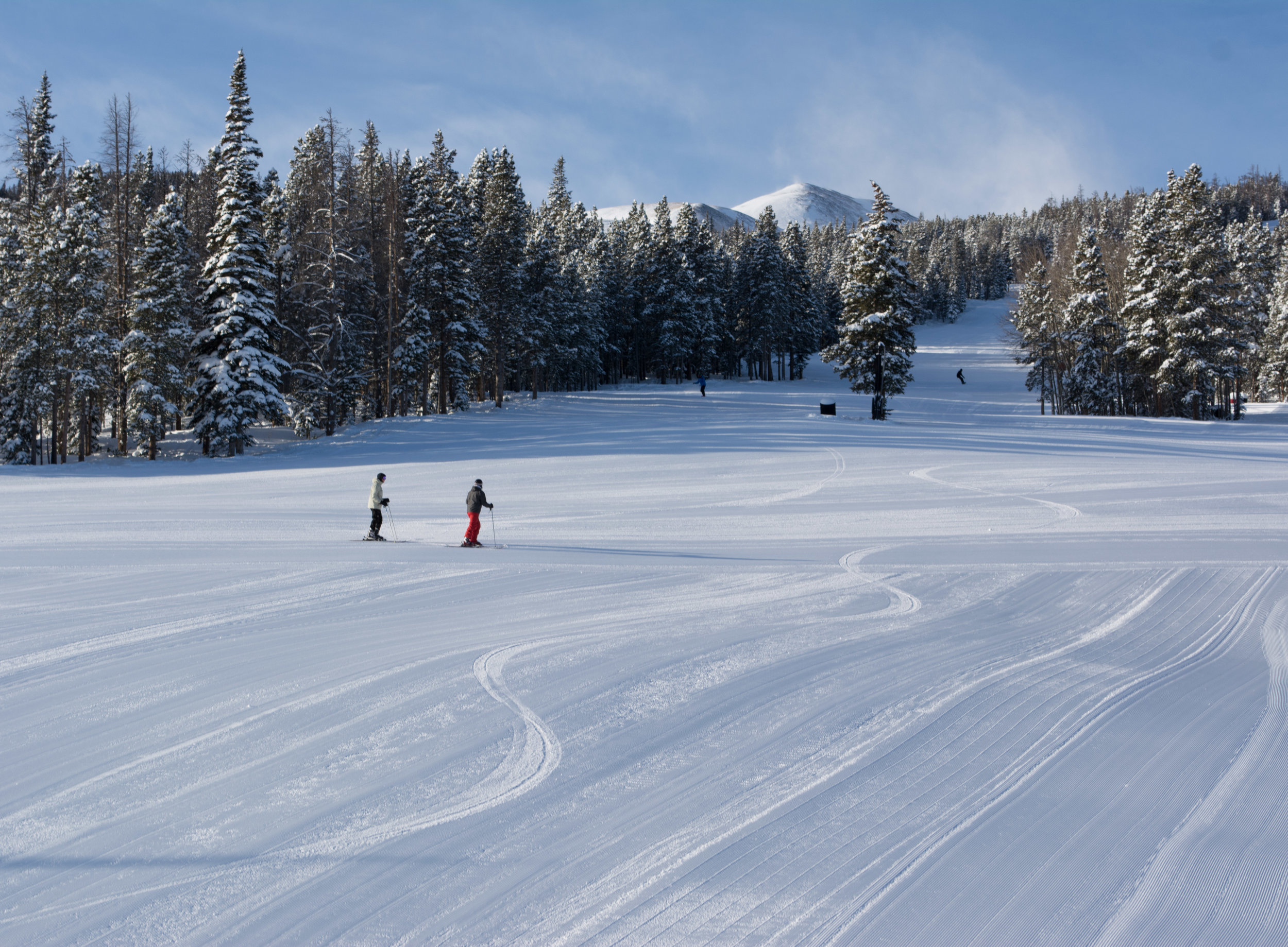 Catch a few runs in the morning at Breckenridge Ski Resort before you sample some brews. Photo: Neill Pieper
