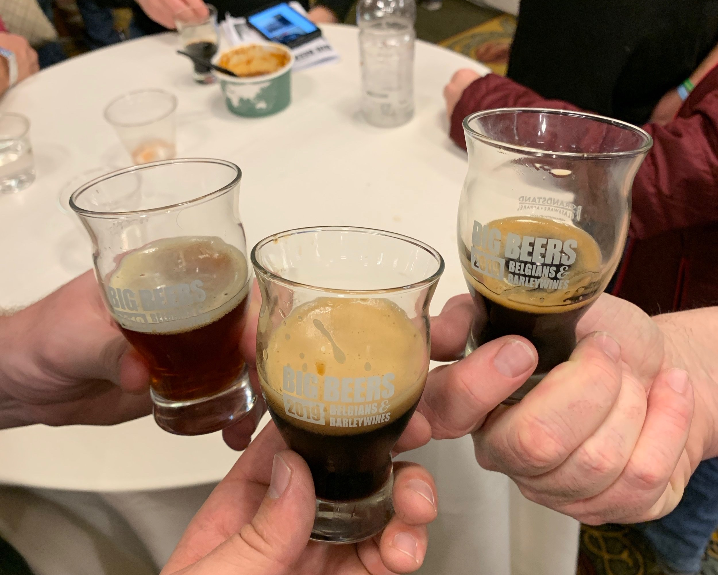 Big Beers was the place to be Saturday, Jan. 12. Photo: Neill Pieper