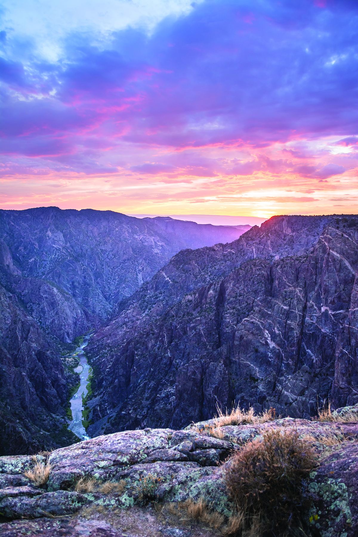 Black Canyon of the Gunnison. Photo: Neill Pieper