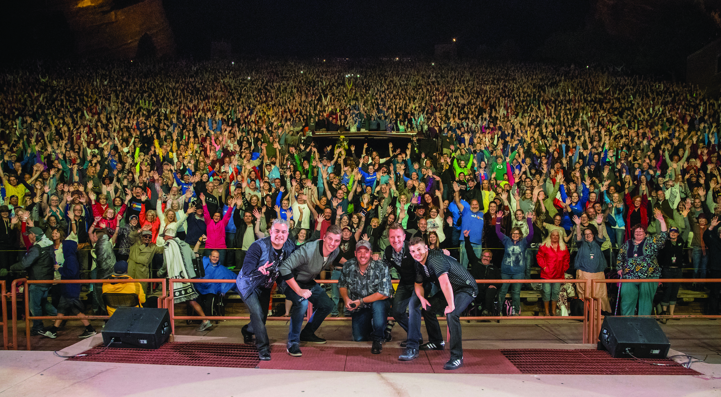 Face has filled the seats at Red Rocks, one of the greatest venues in the world.