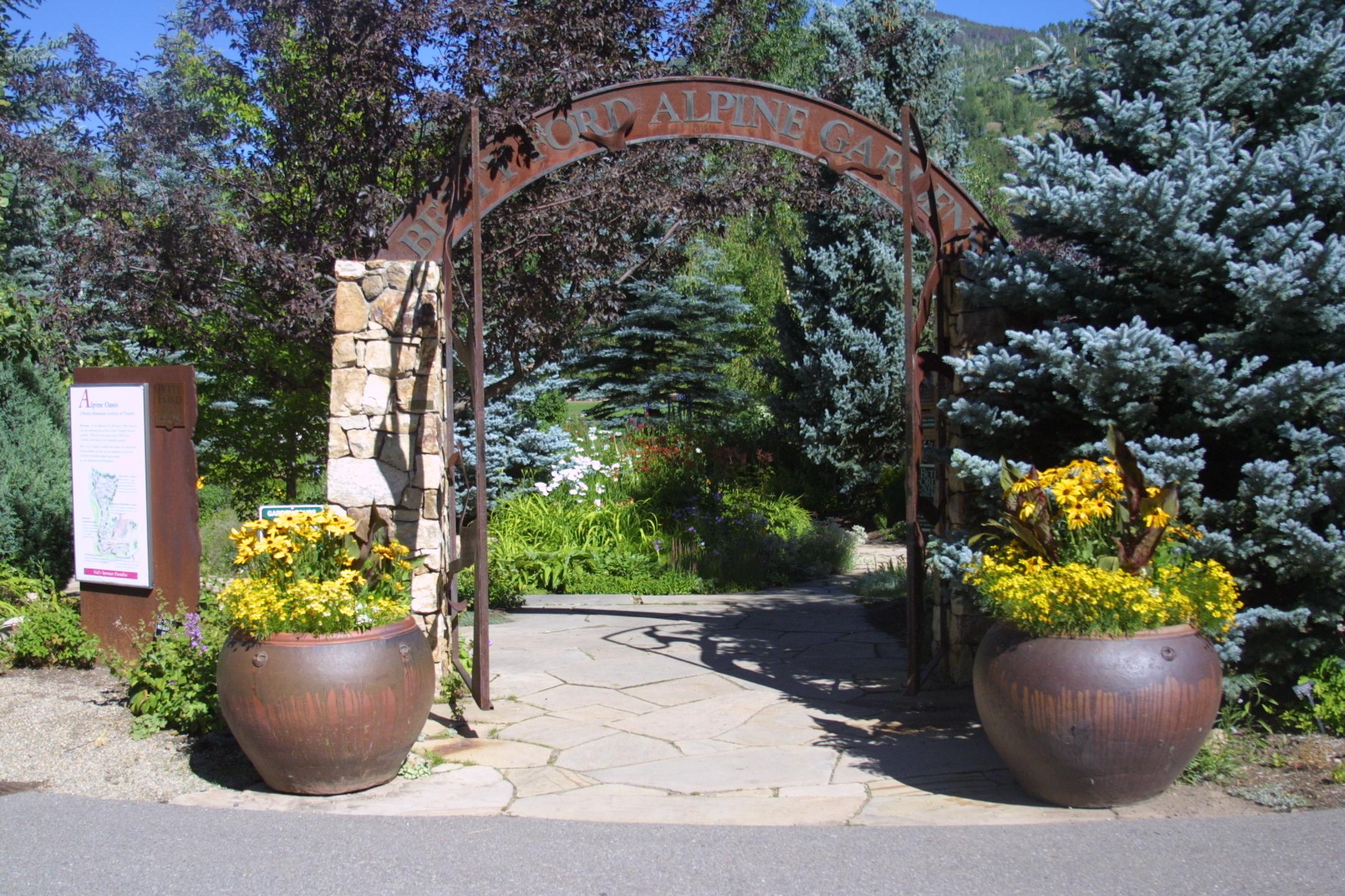 Photo: courtesy Betty Ford Alpine Gardens
