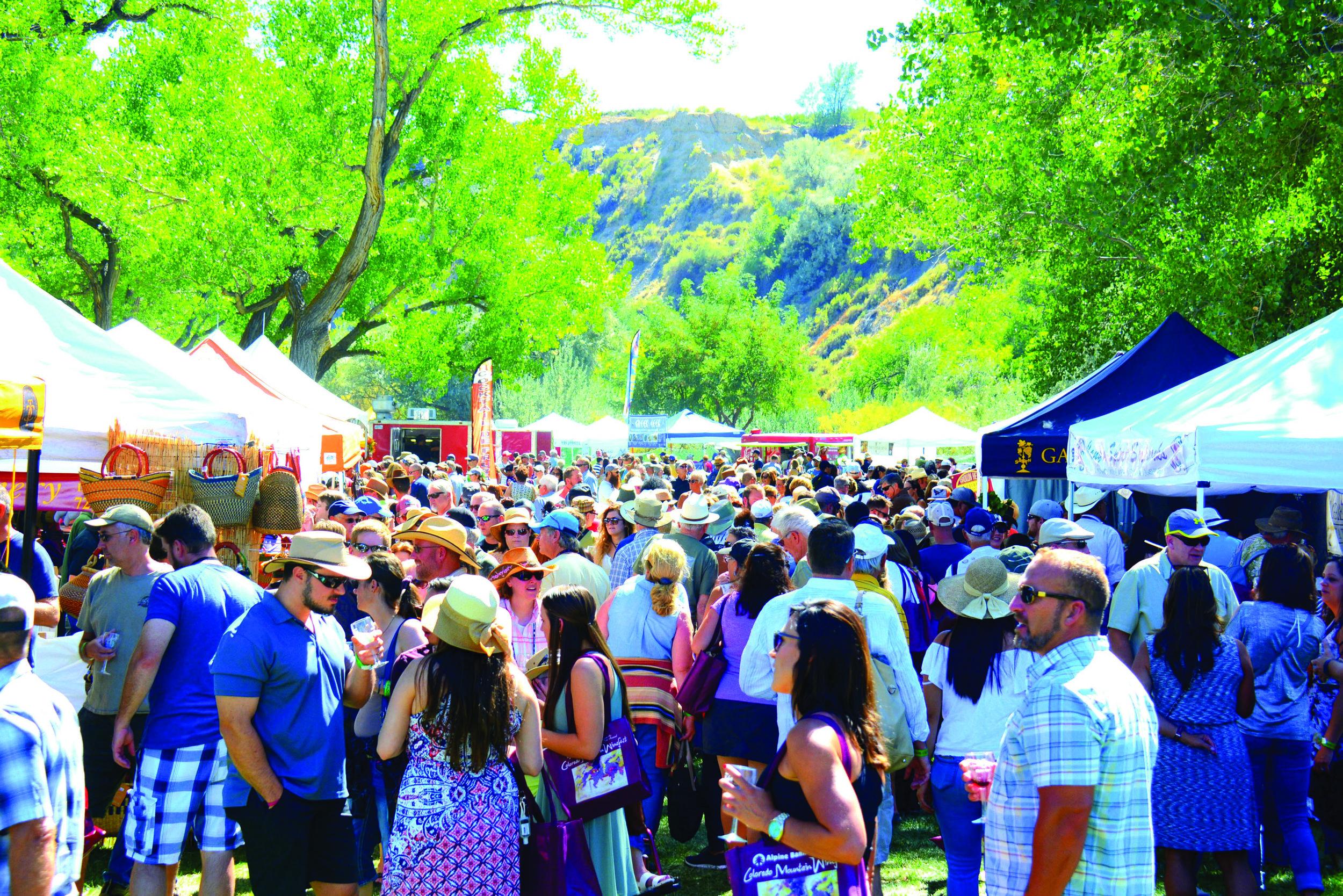 Photo: Courtesy Colorado Mountain Winefest
