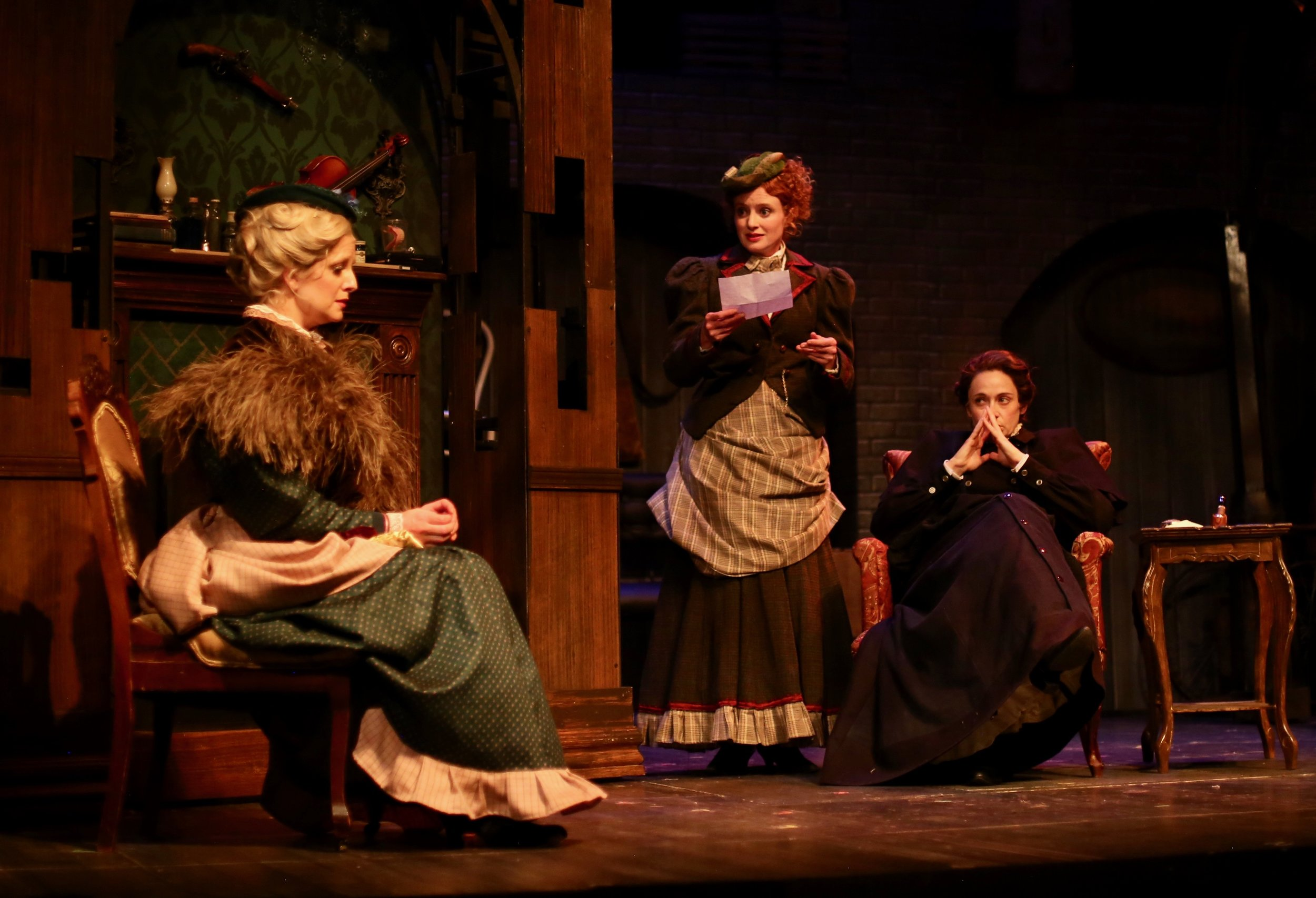 Miss Holmes. Photo: courtesy Creede Repertory Theatre