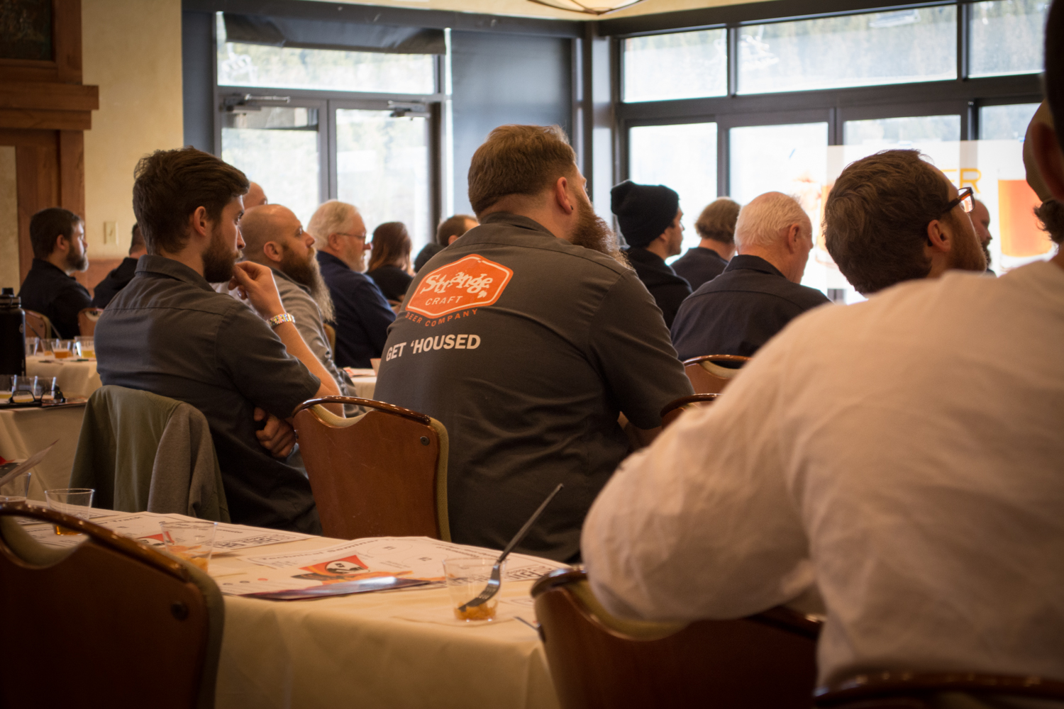 The seminars are a huge hit for brewers and fanatics alike. Photo: Neill Pieper